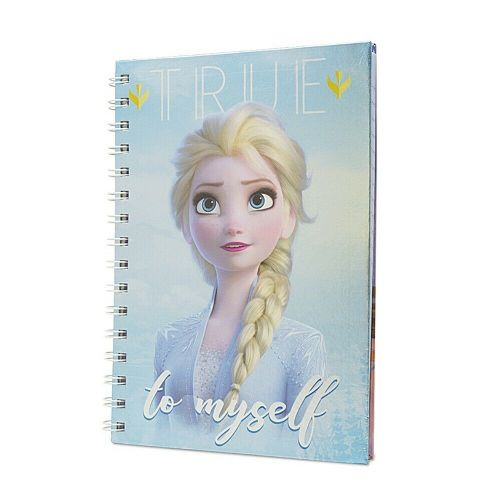 Disney Frozen 2 Sisters Metallic A5 Wiro Notebook Note Pad
